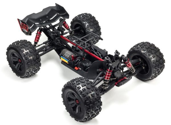 arrma kraton 6s blx brushless truck body off view