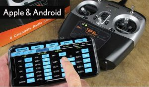 RadioLink T8FB 8 Channel Bluetooth Programmable SBUS Transmitter with 2 x R8FB Receivers