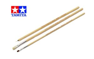 Tamiya Modelling Brush Basic Set 87066
