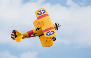E-flite PT-17 Stearman bind and fly radio controlled plane