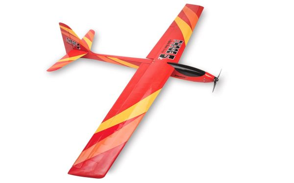 ripmax phase 5 almost ready to fly electric glider top view
