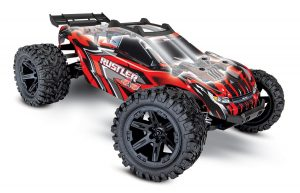Traxxas Rustler 4x4 Red radio controlled truck