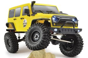FTX Fury yellow ready to run radio controlled crawler truck