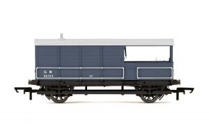 Dark Grey Goods Brake Van