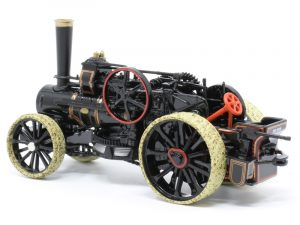 Ploughing Engine Black with red detailing
