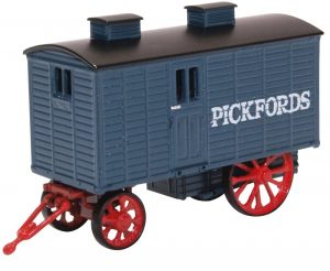 Blue Grey Pickfords Living Wagon