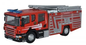 Modern Red Fire engine