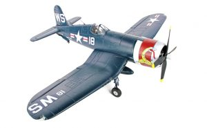 arrows hobby F4u corsair plug and play front view