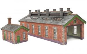red brick engine shed