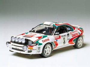 castrol celica rally car plastic kit