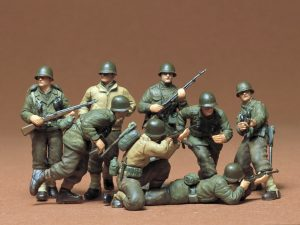 tamiya us infantry figure set