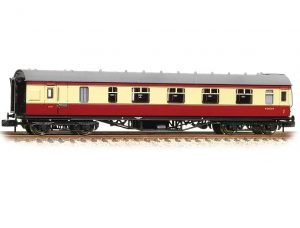 stanier brake coach crimson and cream
