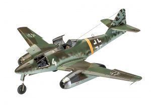 revell me262 jet fighter kit