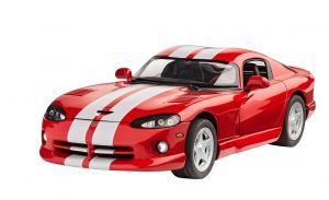 revell dodge viper gts car kit