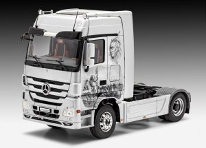 revell mercedes actros mp3 truck kit