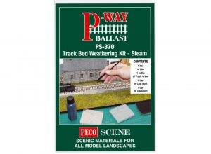 track bed weathering kit steam