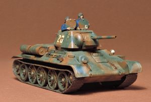 tamiya 1/35 russian t34 tank kit