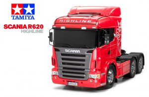 Tamiya Scania R620 Highline 6x4 kit
