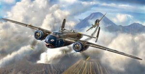 italeri b-25G mitchell medium bomber kit