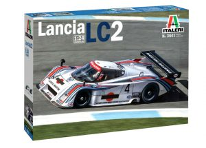 italeri lancia lc2 le mans car kit