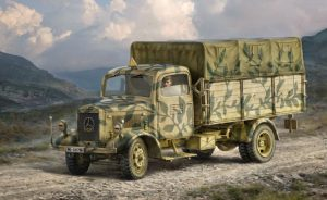 italeri 1/35 mercedes-benz l3000 s truck kit