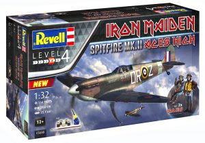 revell 1/32 Spitfire mkII kit box art