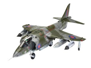 revell 1/32 hawker harrier gr1 kit