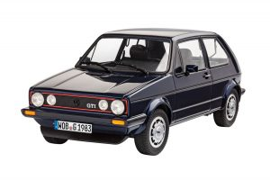 revell 1/24 vw golf gti pirelli edition kit