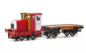 R&H 48DS and flatbed wagon