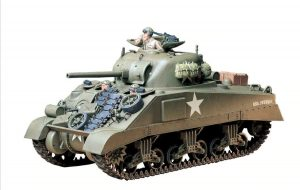 tamiya 1/35 m4 sherman tank us medium tank kit