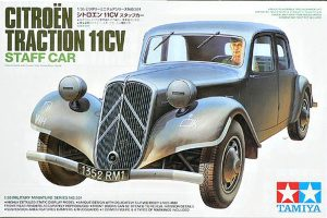 tamiya 1/35 citroen traction 11CV staff car kit