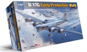 hk model 1/48 b-17g flying fortress