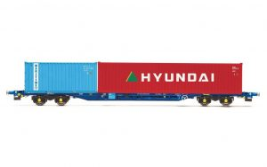 double container wagon