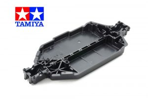 tamiya tt-02 hard black lower chassis deck