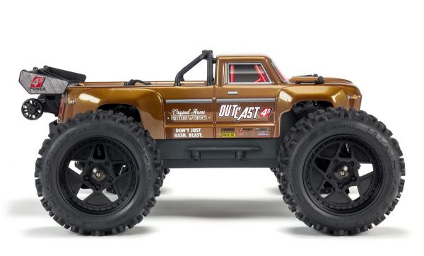arrma outcast blx 4s side view