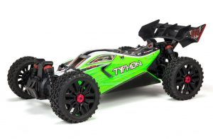 arrma Typhon 4X4 550 Mega Brushed 1/8TH 4WD Buggy front view