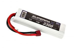 Superpax 3300 2S lipo battery