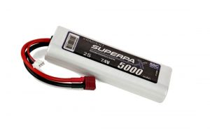 Superpax 5000 2S lipo battery