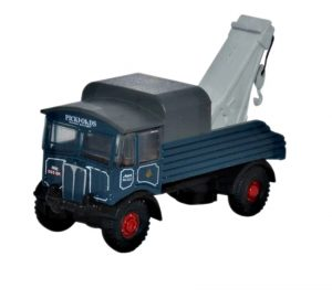 Blue Recovery Truck