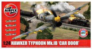 airfix 1/24 hawker typhoon box art