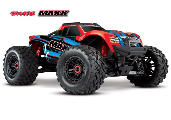 traxxas maxx 4s vxl brushless monster truck