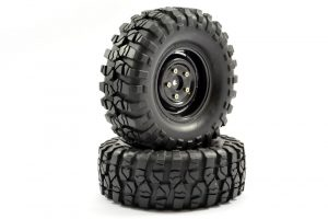 fastrax crawler sawblock tyres and wheels black