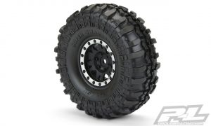 pro-line intreco tsl sx super swamper tyres on impulse wheels