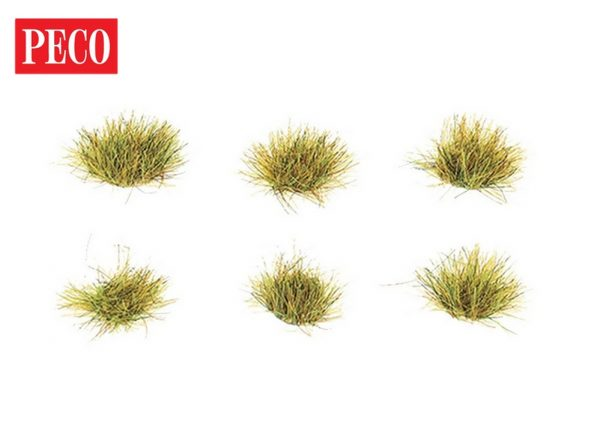 static grass tufts