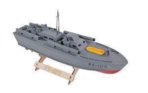 The Wooden Model Boat Company PT-109 1/4 view