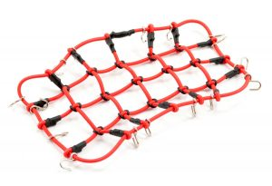 fastrax luggage net red