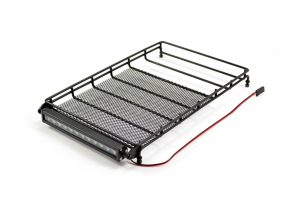 ft large alloy roof rack with leds