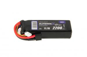 radient 3s 2200mah lipo battery deans connector