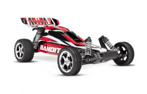 traxxas bandit rtr red