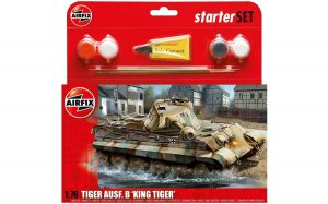 airfix 1/76 king tiger starter set